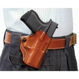 Desantis 019ta19z0 desantis mini scabbard holster rh owb leather 1911 3-3.5 tan
