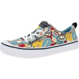 Bobs Womens Vintage Mutt Lifestyle Graphic Fashion Sneakers