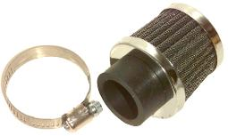 Emgo 12-55728 28Mm Clamp-On Air Filter 12-55728