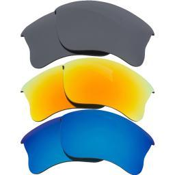 Best SEEK Polarized Replacement Lenses Oakley HALF JACKET 2.0 XL Blu Yellow Blk 033-080304-01