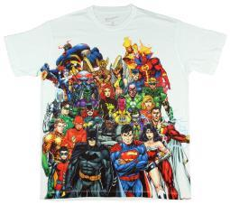 DC Comics New 52 Characters Sublimation T-Shirt