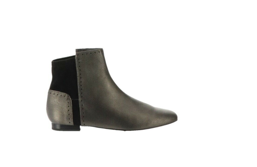 18128009781 LOGO Lori Goldstein Low Shaft Pebble Leather Boots