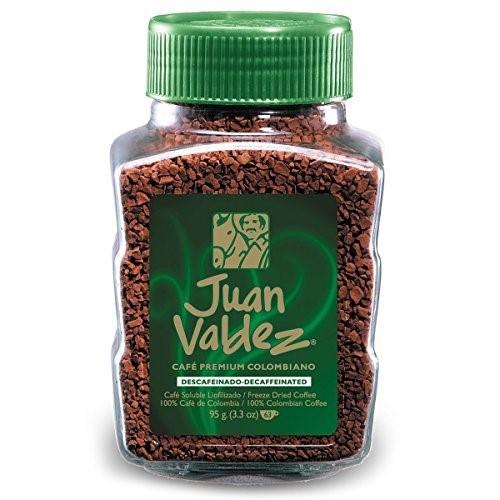 Juan Valdez Instant Decaffeinated Freeze-Dried Coffee 95 G /3.52 oz