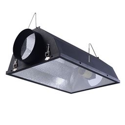 6 Air Cooled Hood Reflector Hydroponics Light""