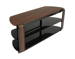 "Innovex Home Products Fold 'N' Snap Otis EZ Modern 55"" TV Stand - Rustic Espresso"