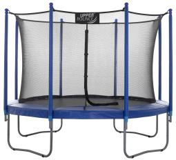 "Upper Bounce® 10 FT. Trampoline & Enclosure Set equipped with the New ""EASY ASSEMBLE FEATURE"""