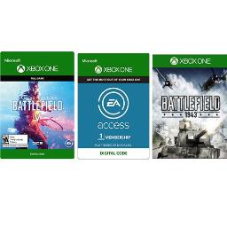 Xbox One Battlefield V Deluxe Edition + Xbox One Battlefield 1943 Edition + Xbox One 1 Month EA Access Membership