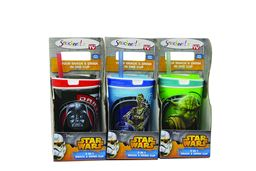 Snackeez Jr Star Wars Drink and Snack Cup - Assorted 3 Pack H-SNAKZJRSW/20