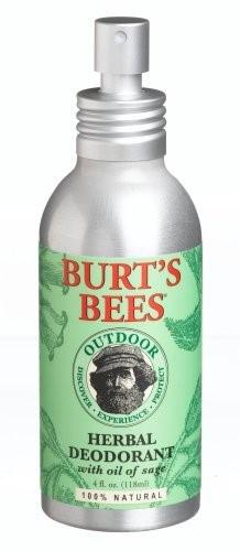 Burt's Bees Out Door Herbal Deodorant with Oil Of Sage (Pack of 2)