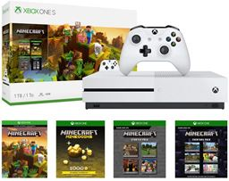 Microsoft Xbox One S 1TB Minecraft Creators Bundle - White