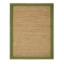 Chesapeake Seagrass 40-Inch by 60-Inch Area Rug, Sage