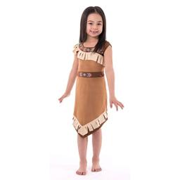 Little Adventures Native American Princess Dress Up Costume for Girls (Small Age 1-3)