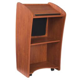 Oklahoma Sound Vision Lectern with Screen, Cherry