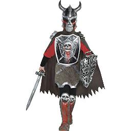 Deadly Knight Halloween costume for Boys, Large, with Included Accessories, by Amscan