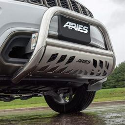 ARIES 35-5006 3-Inch Polished Stainless Steel Bull Bar Select Dodge, Ram 1500, 2500, 3500