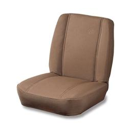 Bestop 39429-37 TrailMax II Classic Spice Low Back Single All-Vinyl Jeep Seat for 1976-2006 Jeep CJ and Wrangler