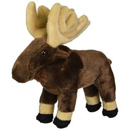Wild Republic Moose Plush, Stuffed Animal, Plush Toy, Gifts for Kids, Cuddlekins 8 Inches