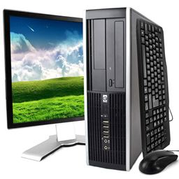 HP Elite 8100 Desktop Computer w/ WIFI 4GB RAM 500GB HDD Windows 10 Pro Includes 19in Monitor, Mouse and Keyboard