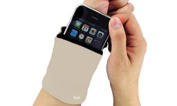 Z-Comfort  Multi-Pocket Wrist Wallet Useful For Trips To The Gym Runs Or Everyday Errands Color:Cream 743161701439