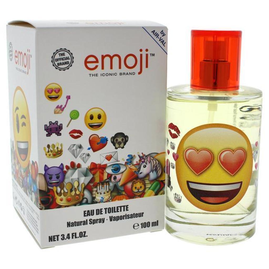 Air-val International Emoji 3.4 Oz Edt For Kids - EMO34SK