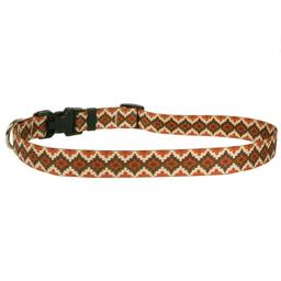 """Yellow Dog Design Aztec Sand Dog Collar 3/8"""" Wide and Fits Neck 8 to 12"""", X-Small"""