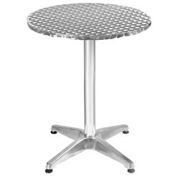 Aluminum Stainless Steel Round Table