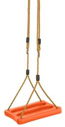 Swingan - One Of A Kind Standing Swing With Adjustable Ropes - Fully Assembled - Orange