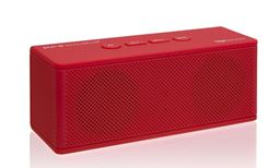 Best Hipbox-Mini Portable Bluetooth Companion Speaker With Aux + Fm Radio And Phone Call Handling - Red
