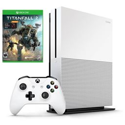 Deals on Microsoft Xbox One S 1TB Console w/Titanfall 2 Nitro Scorch Pack