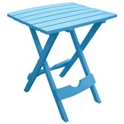 Adam Mfg. 8500-21-3700 Quik-Fold Side Table - Pool Blue