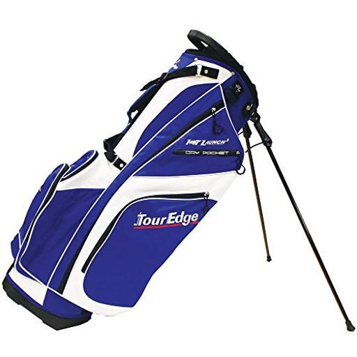 TOUR EDGE GOLF UBAHISB08 Hot Launch 2 Stand Bag WhRoyal