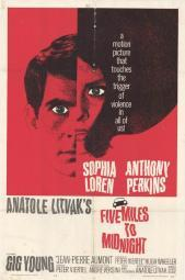 Five Miles to Midnight Movie Poster (11 x 17) MOVEF7081