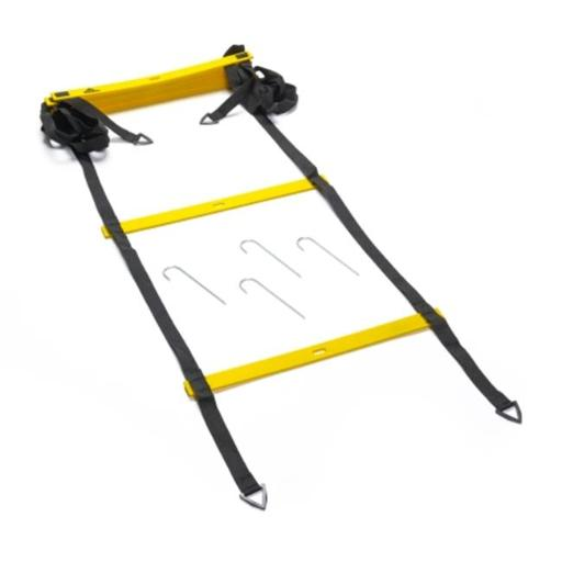 Black Mountain Products 4M Ladder 4m Foldable Agility Ladder with Carry Bag