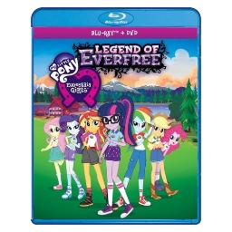 My little pony equestria girls legend of everfree (blu ray/dvd combo) BRSF17129