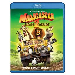 Madagascar-escape 2 (blu ray/dvd combo/2 disc/ws) BR101064