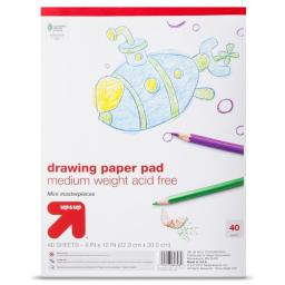 Acco Brands Usa 65200465 9 x 12 in. Drawing Pad - 40 Count
