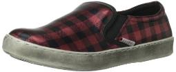 C Label Women's Randy-7B Slip-On Loafer