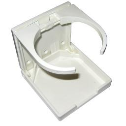 Whitecap folding drink holder white nylon