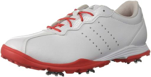 Adidas Womens adipure dc Low Top Lace Up Golf Shoes, Grey, Size 5.0