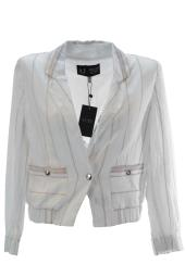 Armani Jeans Women's Cropped Sleeve Jacket