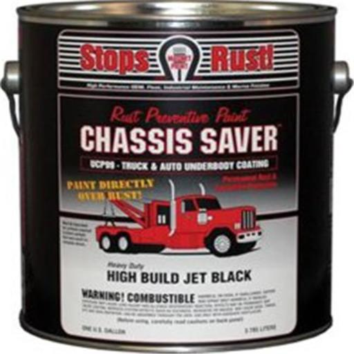 Magnet Paint & Shellac UCP99-01 1 gal Chassis Saver Paint, Stops & Prevents Rust - Gloss Black