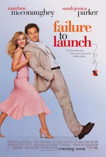 Failure to Launch Movie Poster Print (27 x 40) XCXMA00T1UFV1I59