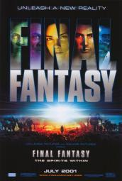 Final Fantasy: The Spirits Within Movie Poster Print (27 x 40) MOVIH9426