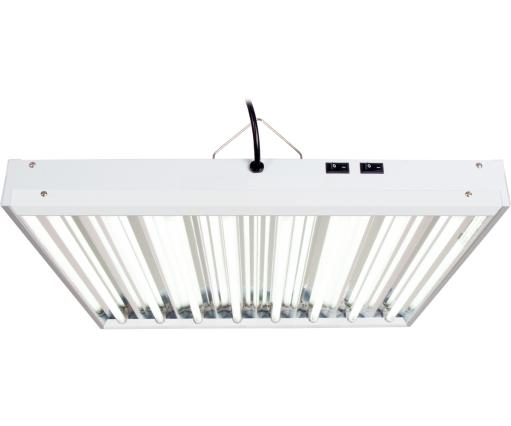 Agrobrite FLT28 T5 Fluorescent Grow Light System, 2 Foot, 8 Tube