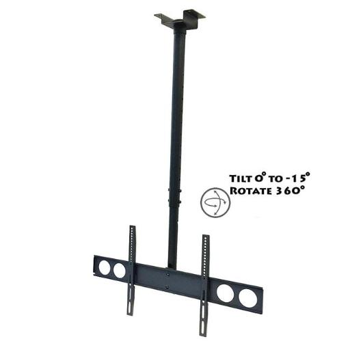 Megamounts CMC-348 37 to 70 in. Heavy Duty Tilting Ceiling Television Mount for LCD, LED & Plasma Screens