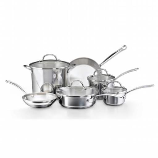 Farberware 75653 10-Piece Set Stainless Steel