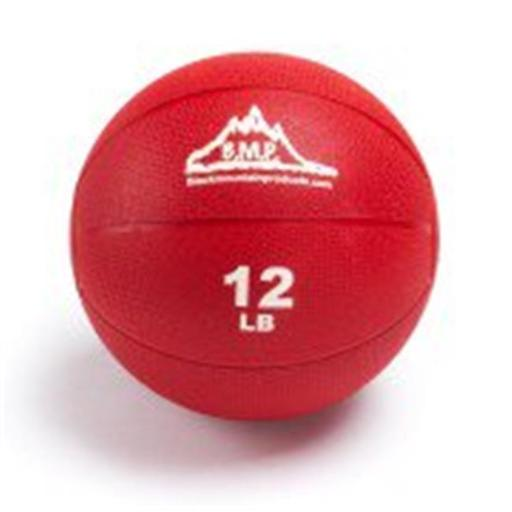 Black Mountain Products BMP Medicine 12 Professional Medicine Ball, Red