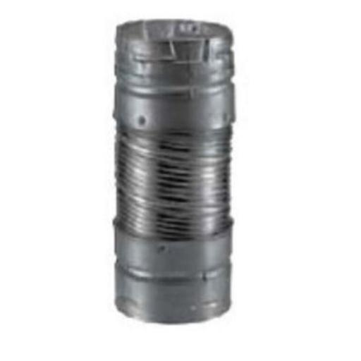 M & G Duravent 4DV60 4 Inch x 60' Dura-Connect Gas Connector Pipe .012 Inch Bendable Aluminum Pipe