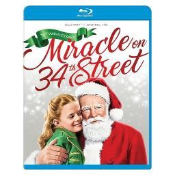 Miracle on 34th street (blu-ray/digital hd/1947/70th anniversary) BR2339191