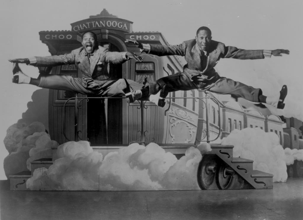 A publicity still of the Nicholas Brothers Photo Print